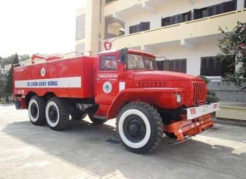 Xe chữa cháy rừng đa năng