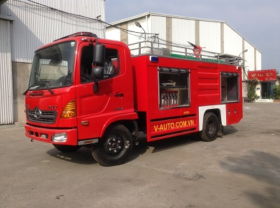 Bán xe chữa cháy cứu hỏa