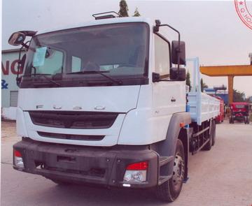 Xe tải gắn cẩu DONGYANG SS1406 6000 kg/2,0 m và 500 kg/16,3 m