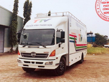 Xe truyền hình lưu động HINO FG8JPSB
