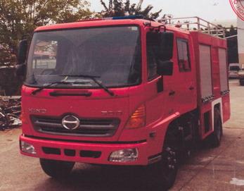 Xe cứu hỏa 3600 lít nước, 400 lít bọt HINO FC9JETA