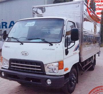 Xe tải thùng kín 4 tấn HINO WU352L