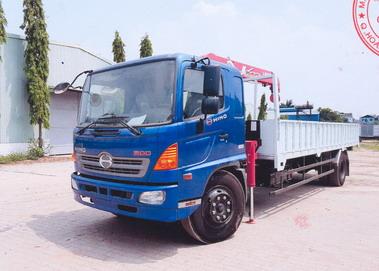 Xe tải gắn cẩu HINO FG8JPSN 3030 kg/2,6 m và 480 kg/9,81 m