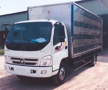 Xe tải thùng kín 5 tấn FOTON THACO OLLIN700B-CS