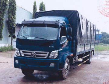 Xe tải thùng bạt FOTON THACO OLLIN950A
