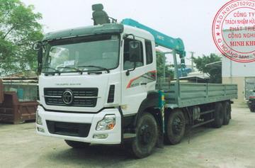 Xe tải gắn cẩu 15 tấn TRUONGGIANG 7000 kg/2,0 m và 370 kg/19,6 m