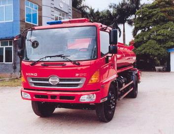Xe cứu hỏa 8000 lít HINO FG8JJSB