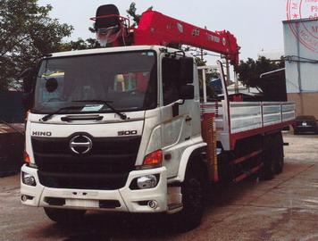 Xe tải gắn cẩu 14 tấn HINO FM8JW7A 8000 kg/2,0 m và 500 kg/19,8 m