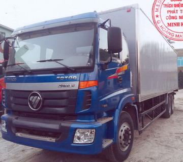 Xe tải thùng kín 10 tấn FOTON THACO AUMAN