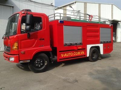 Xe cứu hỏa 4000 lít nước, 400 lít bọt Hino FC9JETC