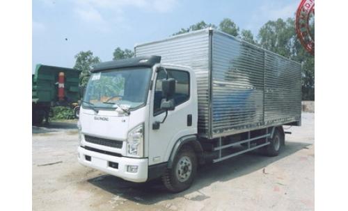 Xe tải thùng kín 5 tấn GIAIPHONG T7105.FAW-GM