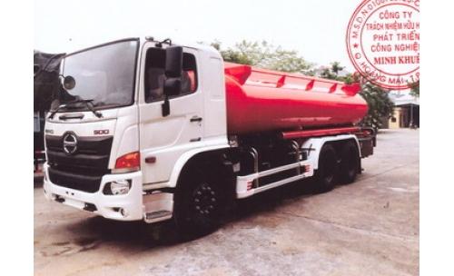 Xe xi téc chở nước 14000 lít HINO FM8JN7A