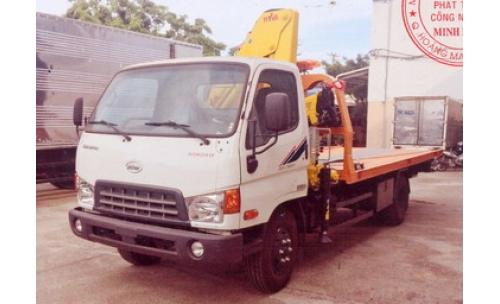 Xe cứu hộ giao thông sàn trượt VEAM HD800
