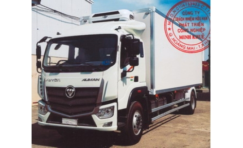 Xe tải thùng lạnh 7 tấn FOTON THACO AUMAN C160.E4