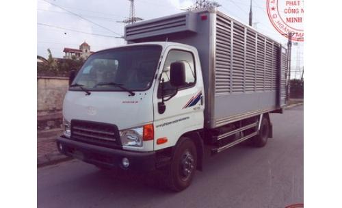 Xe tải chở gia cầm 4 tấn MIGHTY DONGVANG HD700