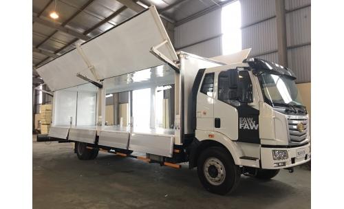 Xe tải thùng cánh dơi trên xe Ô tô FAW - E5T8 7.25T