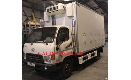 Xe tải chở gà con , xe tải chở gia cầm Huyndai