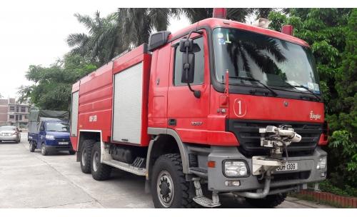 Xe chữa cháy 4 khối Hino FC