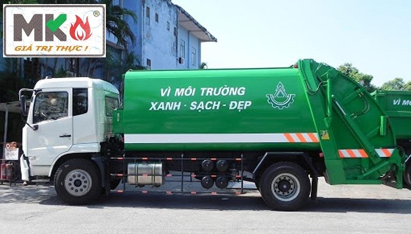XE CHỞ RÁC DONGFENG